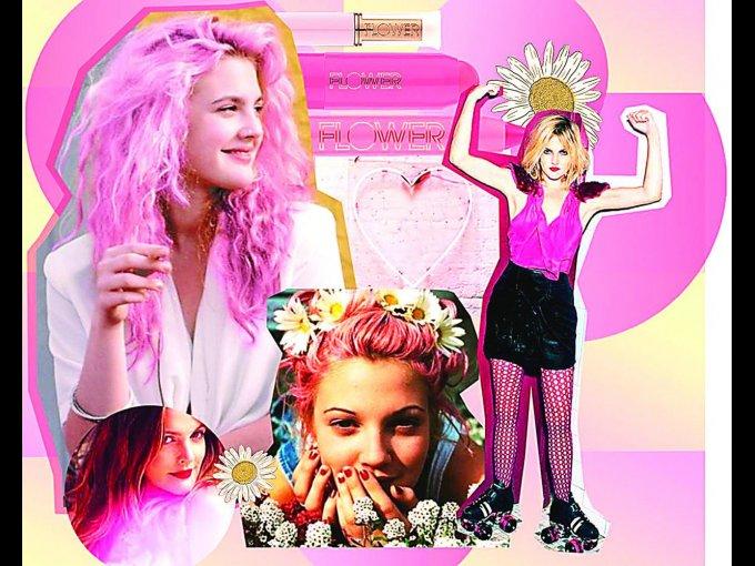 A través de un collage, la actriz comparte el poder femenino de Flower Beauty