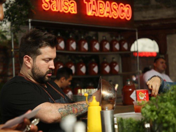 El chef Luis Valle