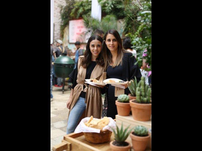 Michelle Almada y Patricia Esquer