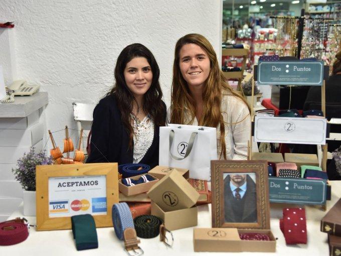 Luz Elena Bervera y Paola Riojas
