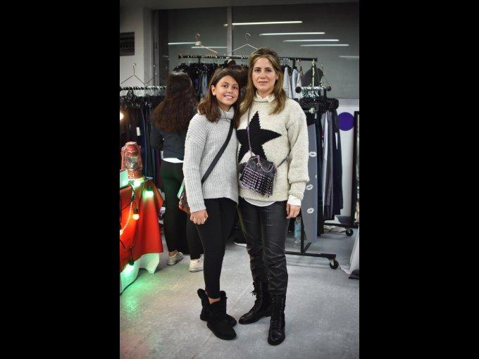 Sandra Criado del Valle y Lucía López