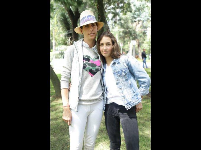 Casilda Chico y Javiera Riva