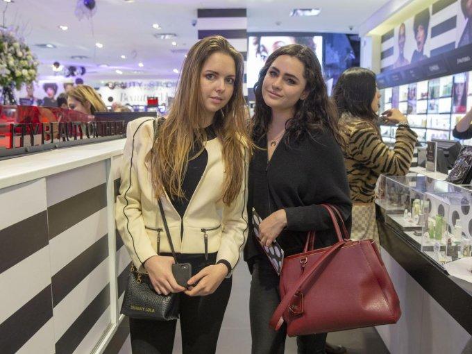 Mariana Aranda y Paola López
