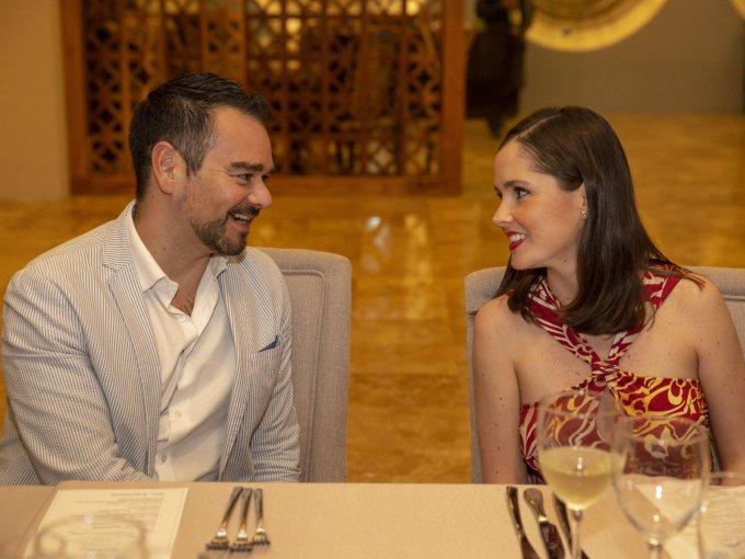 Hugo Guzmán y Priscilla Ezquerro