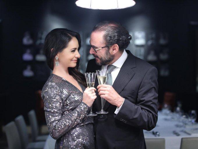 Paulina Madrazo y José Miguel Portilla