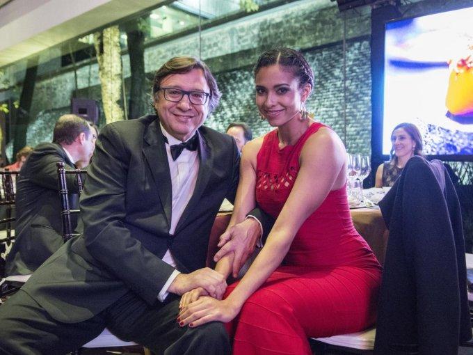 Manuel Quintanero y Paola Ramos
