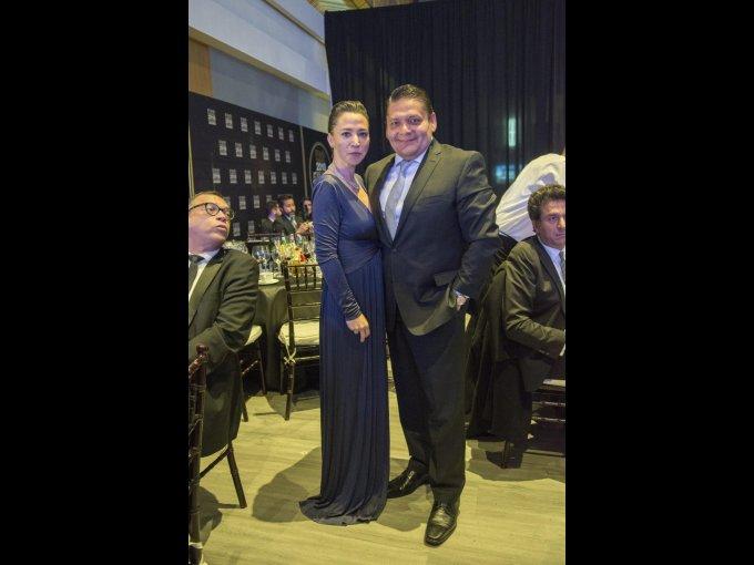 Ruth Vázquez y el chef Bricio Domínguez