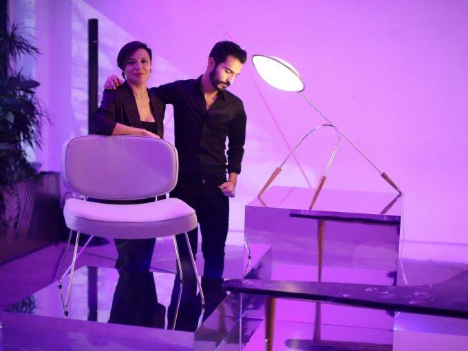 Sandra Durán y Alejandro de León