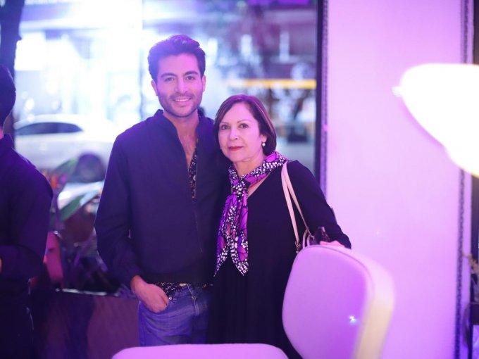 Eduardo Ortiz y Guadalupe Pedraza