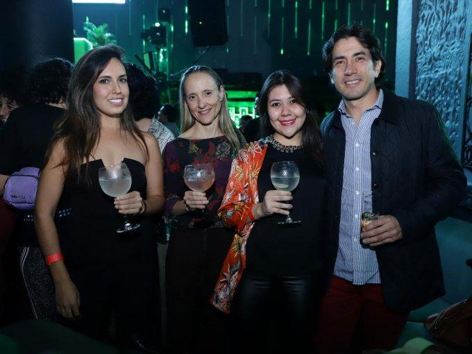 Bernarda Jiménez, Alicia Santamans y Alejandra Carballo