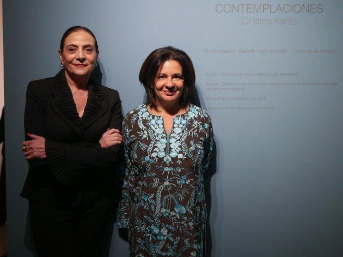 Patricia Conde y Cristina Kahlo