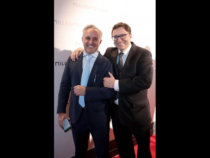 Nicolás Vale y Manuel Quintanero