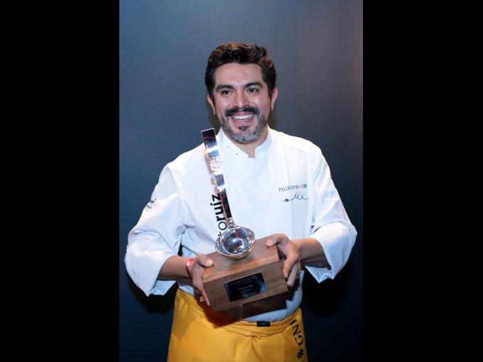 El chef Roberto Ruíz, premio a la Gastronomía