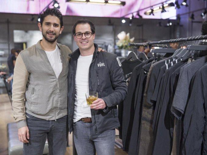 Javier Vieyra y Alejandro Oropeza