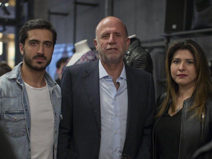 Julián Farah, José Martínez Vértiz y Paola Valencia