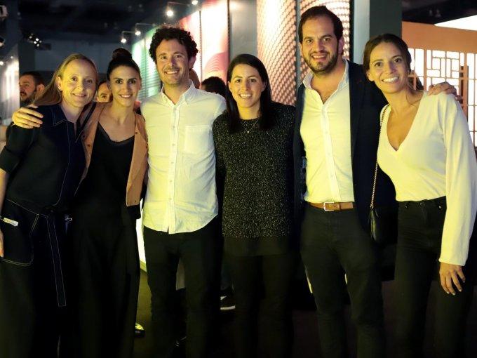 Alicia Santamans, Desirée Nelles, Antonio Vilches, Alejandra Ríos, Paco Buchara y Fernanda López