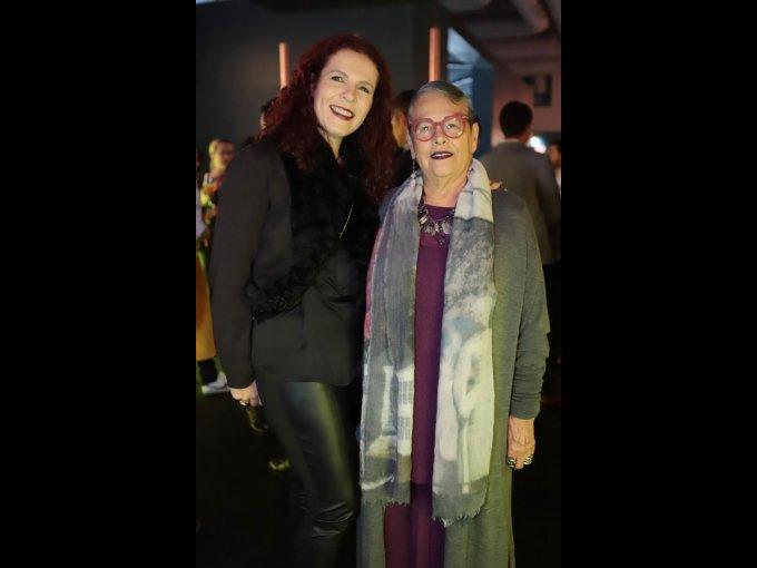 María Teresa Degollado y Carmen Titita Ramírez