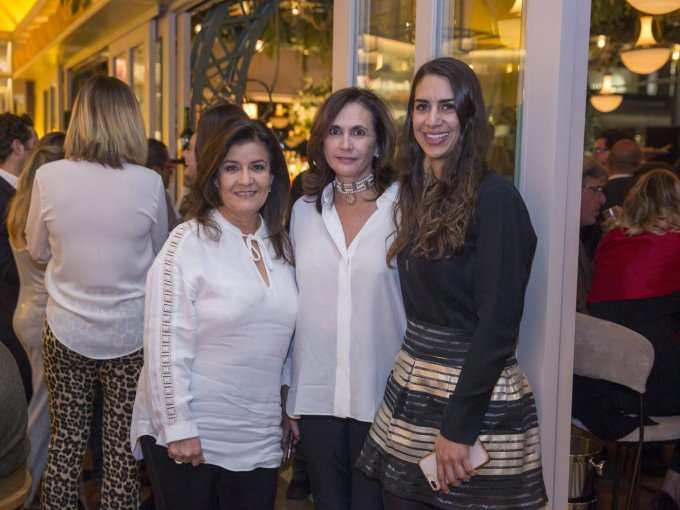 Martha Serrano, Claudia Azpiri y Eugenia Villalpando