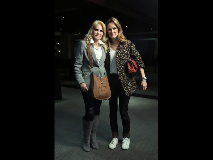 Hilda Calderón y Vanessa Pliego