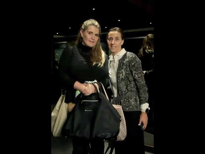 Lorenza Sánchez y Federica Ruiz