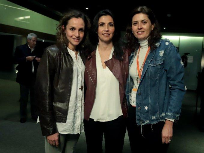Margarita Gardelia, Elena Videgaray y Ana Pérez