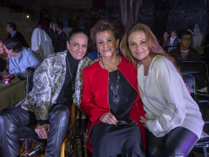 Carla María Compeán, Marcela Madariaga y Liz Arias