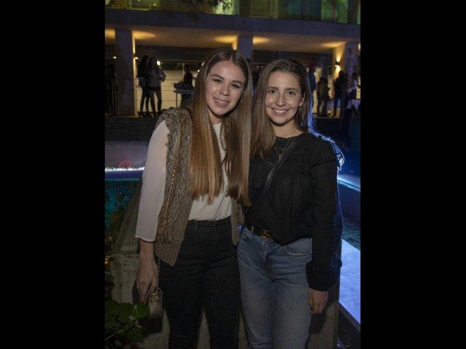 Andrea Ruiz y Valeria Reta
