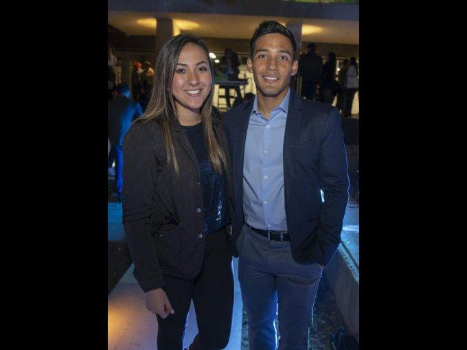 Daniela Velázquez y Federico Zimbrón