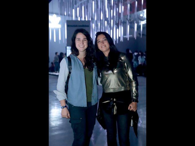 Silvia Ariza y Dafne Larios