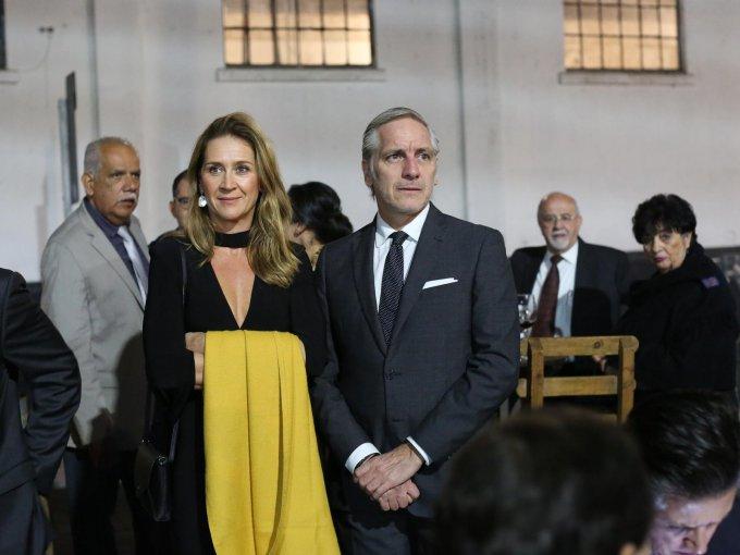 Adriana Suárez y Ricardo Orestano