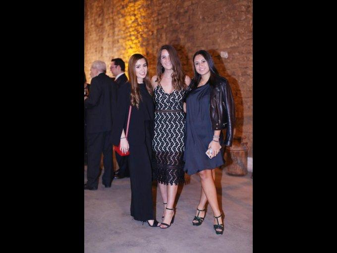 Belén Portilla, Daniela Vázquez e Isabella González