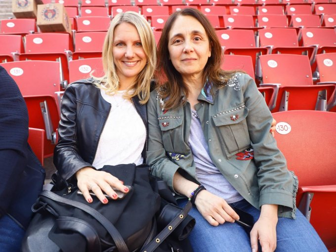 Mónica Agraz y María Pérez