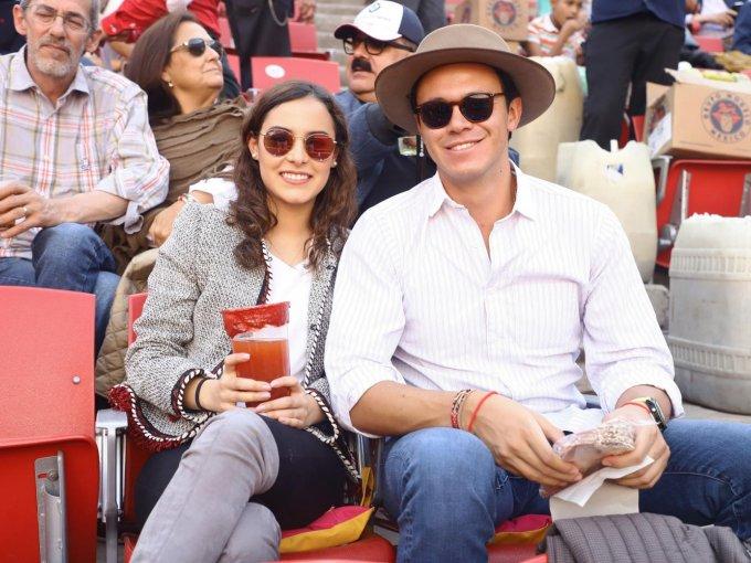 Ivana Senko y José Ramírez