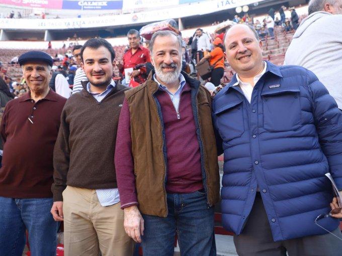 Dionisio, Dionisio, José Antonio y Lorenzo Meade