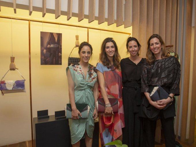Maru Cruz y Sandra Weil con Alejandra y Laura Laviada