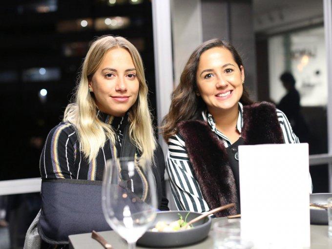 Luisa Fernández y Mariel Aguirre
