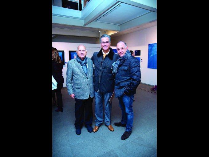 Mauricio Berger, Marco Antonio Azuara y Ari Berger