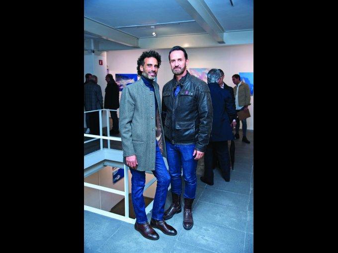 Sammy Samir y Alejandro Gómez de Tuddo