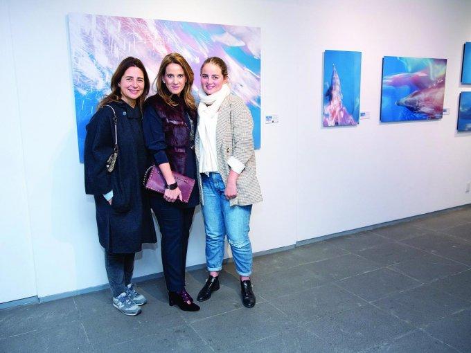 Cecilia, Claudia y Paula Goudet