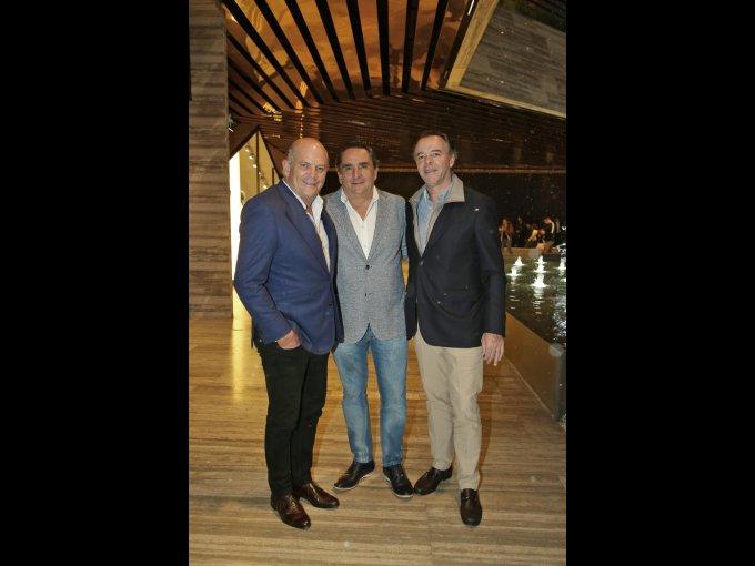 Javier Sordo Madaleno, Fernando Amieva e Ignacio Gil