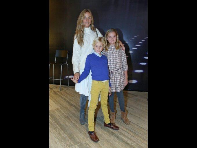 Elena, Nico y Cloe Müls