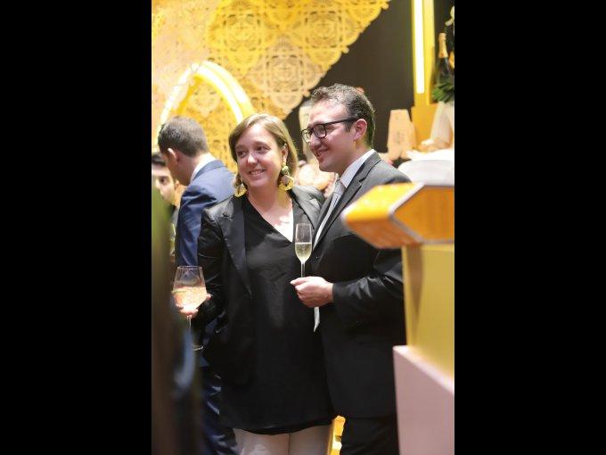 Delphine Vázquez y Gabriel Linares
