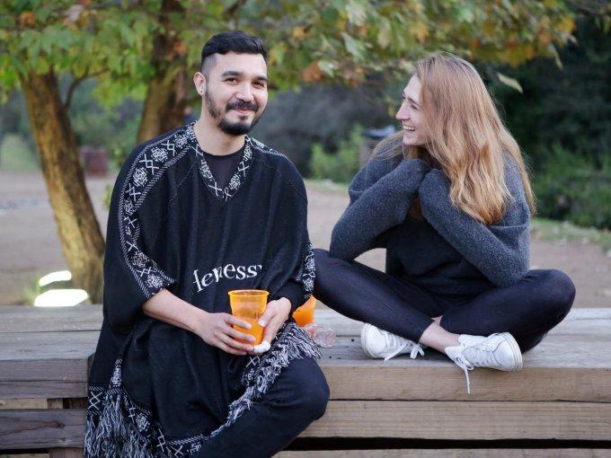David Gómez y Chiara Demichelis