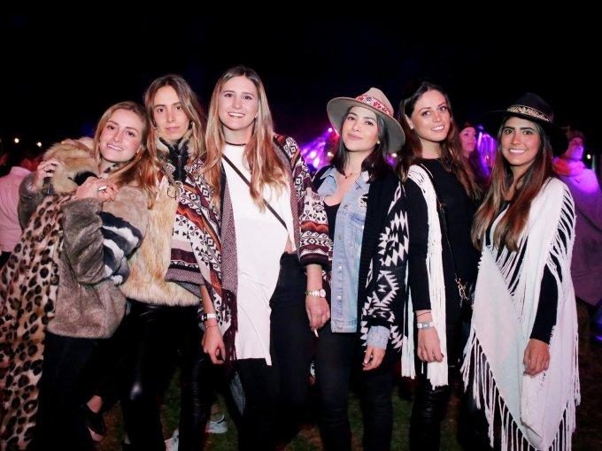 Alexia Hernández, Lorenza Covarrubias, Lisi Usabiaga, Marcia García, Renata Ezquerro y Fernanda Sánchez