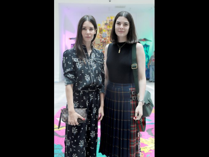 Inés Abouchard y Julia Abouchard