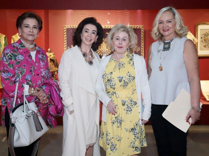 Malusa Suárez, Guadalupe Peñafiel, Doris Beckmann y Esperanza Alanis
