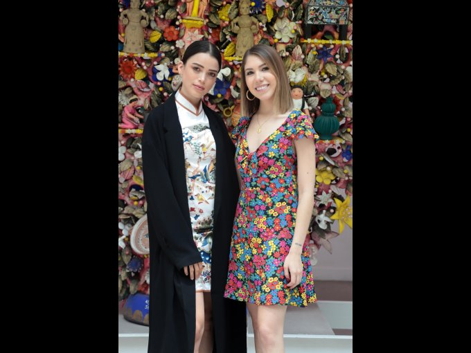 Lylo Falah y Claudia Martínez