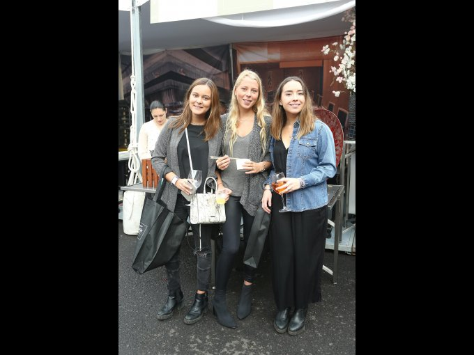 Galia Kleinburg, Carla Arellano y Carla Félix