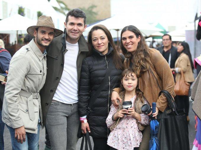 Juan Pablo Molinar, Lorenzo Ruiz, Rocío Cid, Aletia Salas y Elisa Castañeda