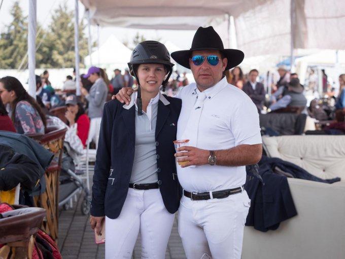Berna Martínez y Chema Sierra